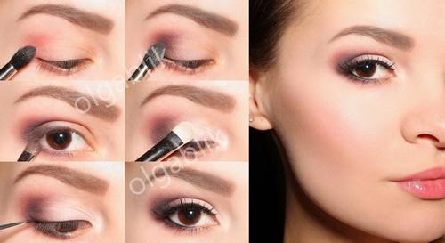 Как сделать в глаз макияж если нет век 23