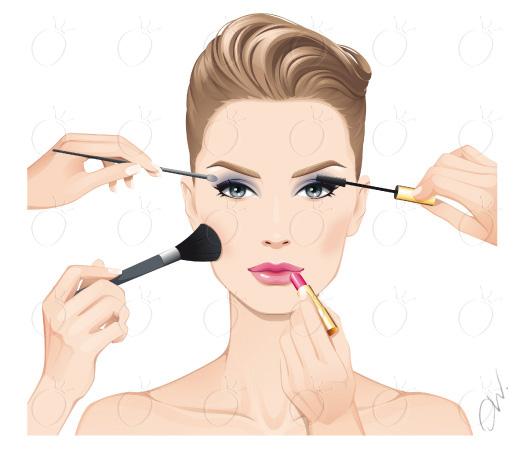 Скульптурирование лица пошаговый макияж