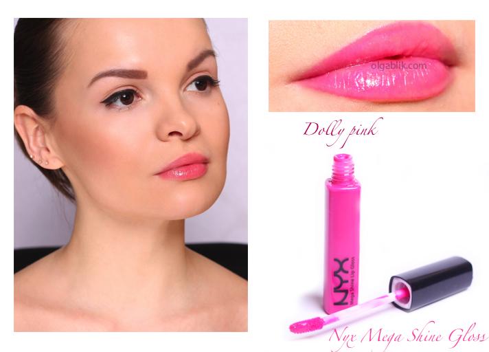 Блеск для губ NYX Mega Shine Lip Gloss - отзывы и фото
