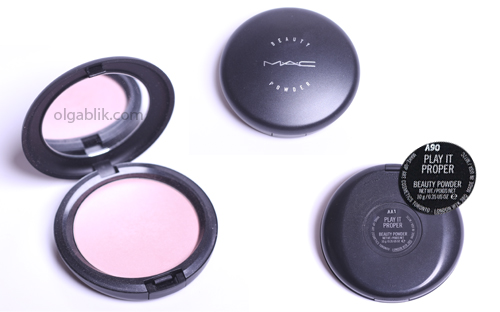 Хайлайтер Mac Beauty Powder in Play It Proper