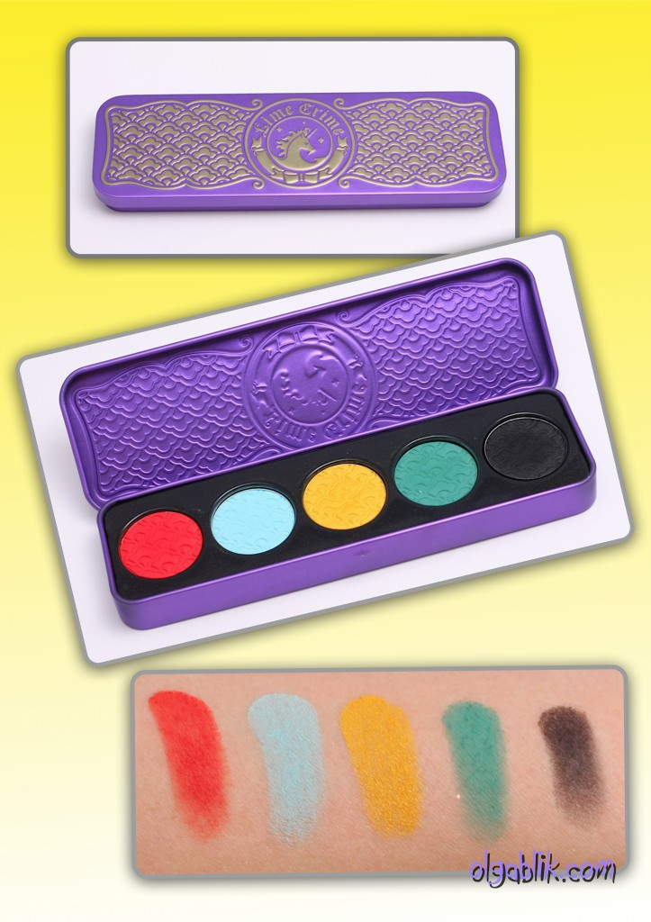 Lime crime Chinadoll pressed eyeshadow palette