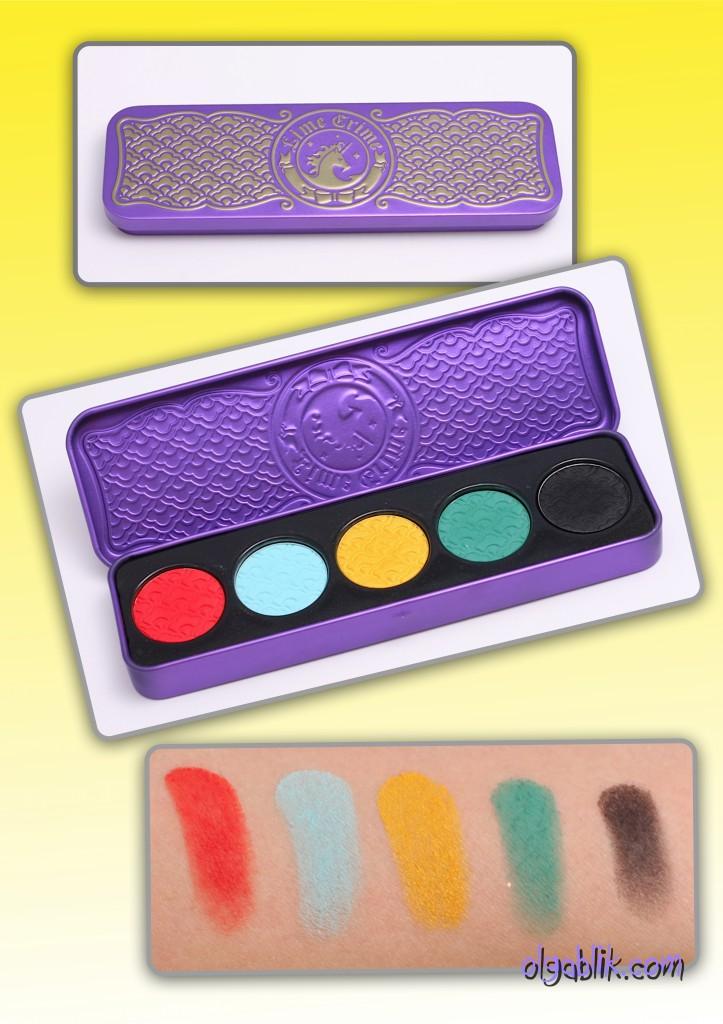 Lime crime Chinadoll pressed eyeshadow palette