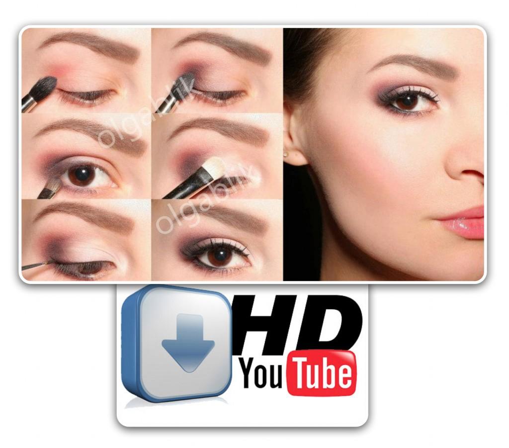 Дымчатые Смоки Айс: видео-урок и пошаговый макияж глаз