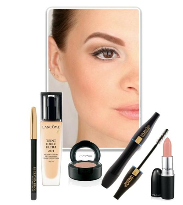 Пошаговый дневной макияж