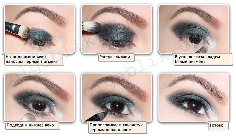 Макияж для зеленых глаз - фото и видео. Как сделать макияж 89