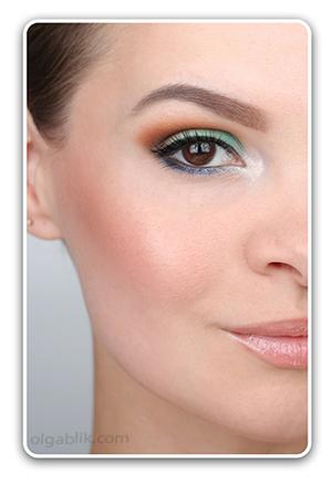 Пошаговый макияж для круглых глаз