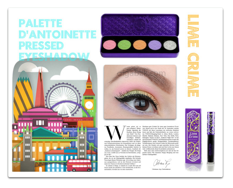 Палетка для век Lime Crime D'Antoinette Palette