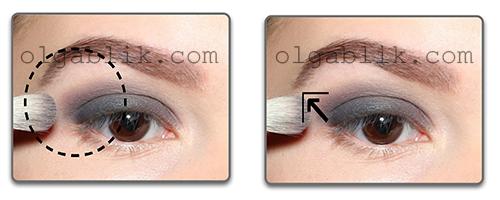 Макияж Smoky Eyes - пошаговый фото - урок