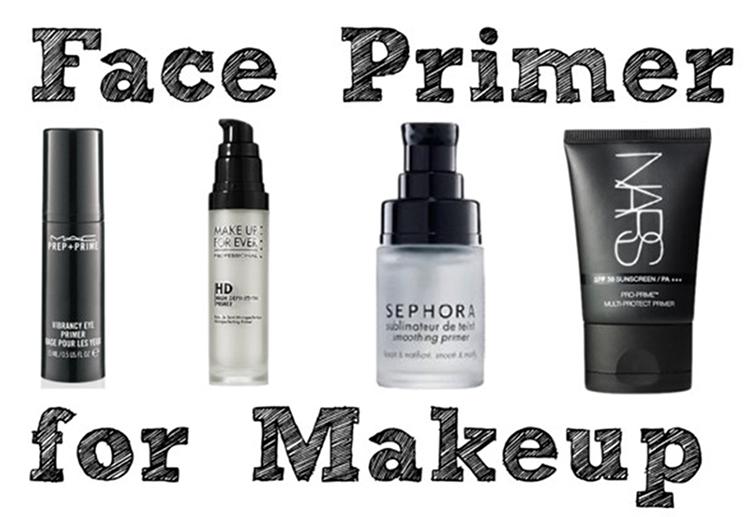 База для лица: MAC, Make Up For Ever, Nars, Sephora