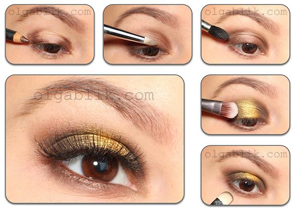 Sleek Makeup Sunset Palette - пошаговый макияж