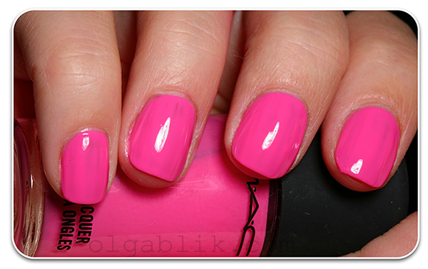 Лак для ногтей MAC - M·A·C Studio Nail Lacquer - MAC Galore Pink Nail Lacquer
