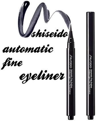 Shiseido Automatic Fine Eyeliner - жидкая подводка для глаз: отзывы
