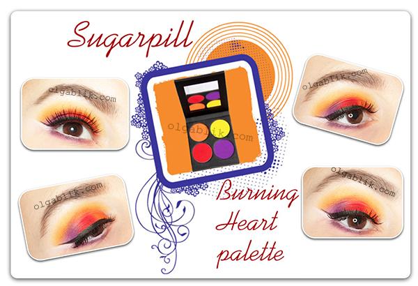 Пошаговый макияж с тенями Sugarpill Cosmetics