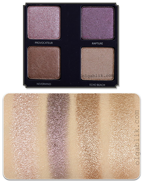 Urban Decay The Vice Swatches Palette