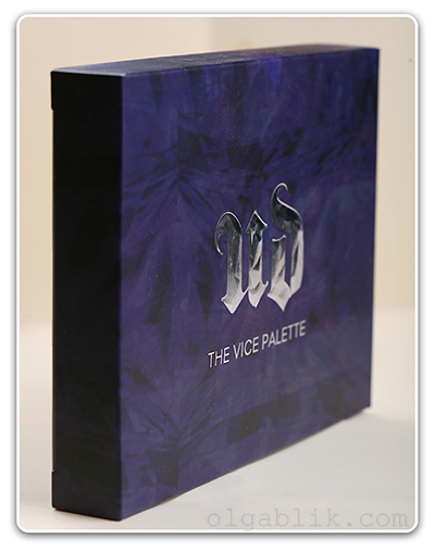 Urban Decay The Vice Palette Holiday 2012