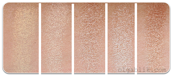 Bobbi Brown Shimmer Compact Brick swatch