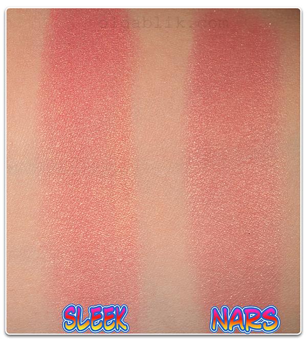 Румяна Sleek Blush in Rose Gold или Nars Blush Orgazm