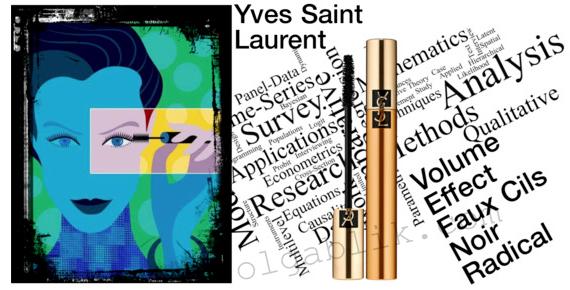 тушь Yves Saint Laurent Mascara Volume Effet Faux Cils Noir Radical.