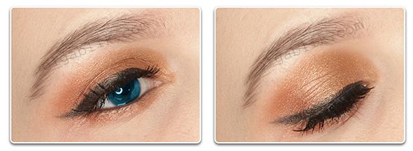 Макияж для голубых глаз видео-урок