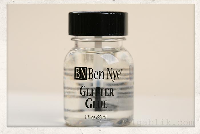 Мои косметические покупки в декабре Ben Nye Glitter Glue