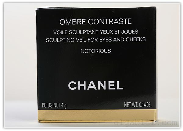 румяна Chanel Ombre Contraste Notorious Sculpting Veil