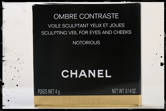 румяна Chanel Ombre Contraste Notorious
