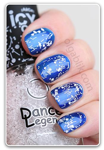 Dance Legend Icy Top - верхнее покрытие лака для ногтей