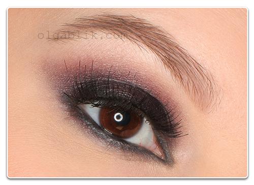 Новогодний макияж Смоки Айс - фото