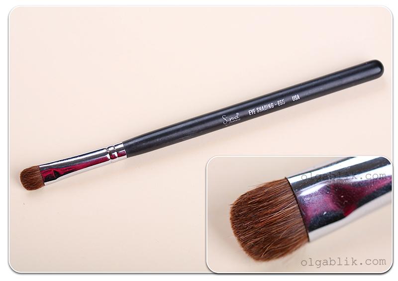 Плоские кисти для макияжа sigma E55