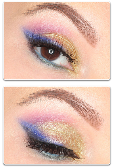 Макияж с Urban Decay Vice Eyeshadow Palette