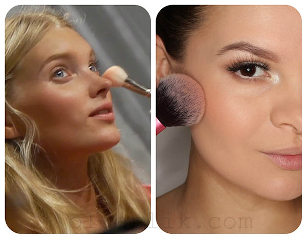Макияж Victoria Secret Fashion Show 2012 Makeup Look - Olga Blik