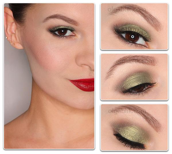 Пошаговый макияж для серо-голубых глаз.