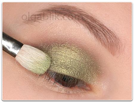 макияж в зеленых тонах Green Makeup Tutorial