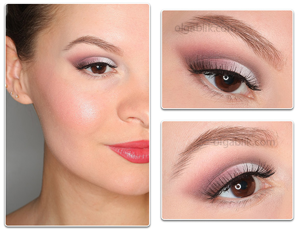 Пошаговый макияж глаз для