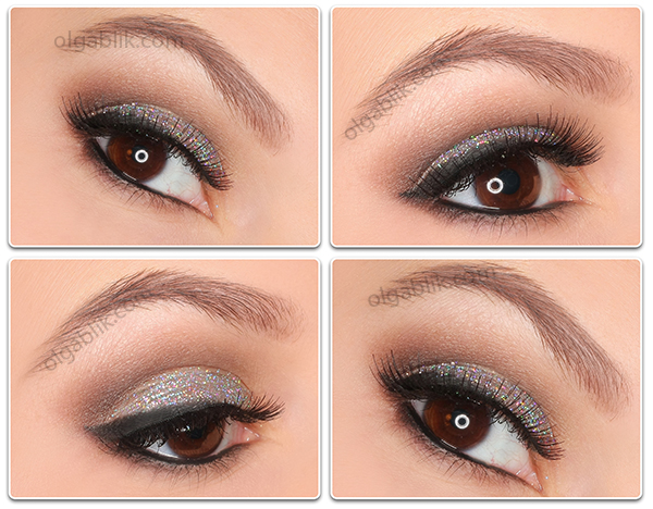 пошаговый макияж makeup tutorial Sleek i-Divine Au Natural Palette