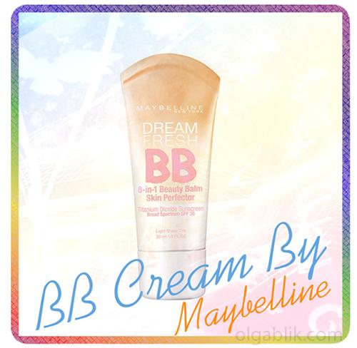 тональный крем Dream Fresh BB Cream By Maybelline