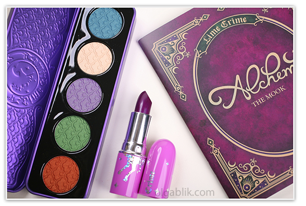 Lime Crime Alchemy duochrome pressed eyeshadow palette