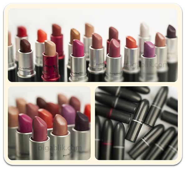 Помада MAC Cosmetics Lipstick. Отзывы. Фото. Обзор.
