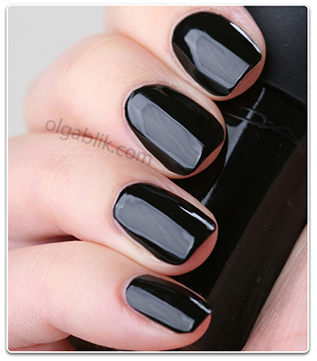 Черный лак для ногтей MAC Nail Lacquer - Nocturnelle