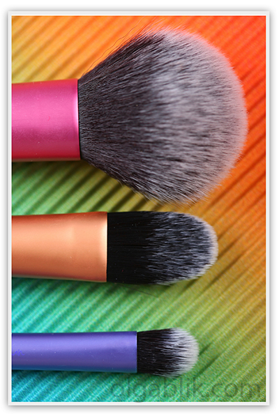 Real Techniques by Samantha Chapman Travel Essentials Makeup Brush Set
