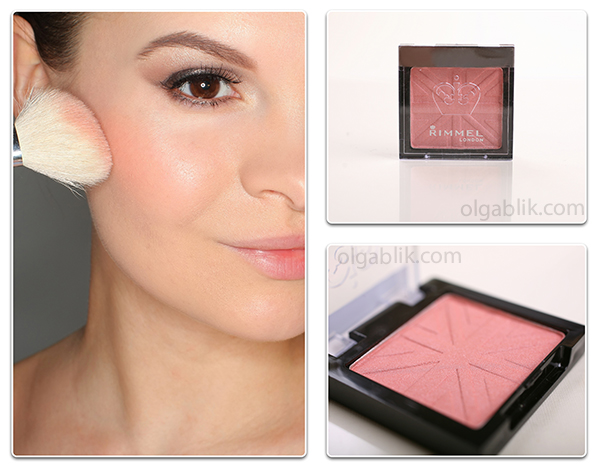 румяна Rimmel Lasting Finish Mono Blush оттенка Pink Rose
