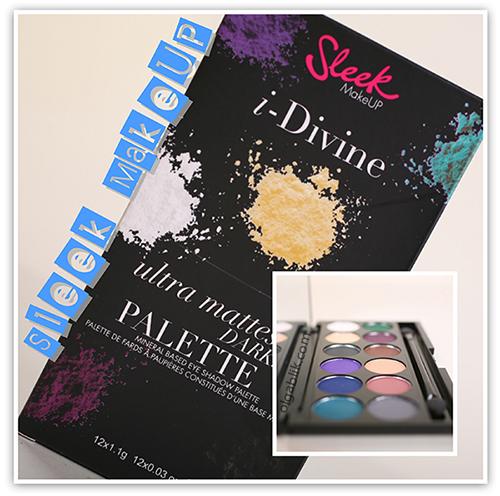 Sleek MakeUp Ultra Matte i-Divine Palettes