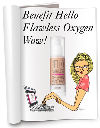 Тональный крем BeneFit Cosmetics Hello Flawless Oxygen Wow