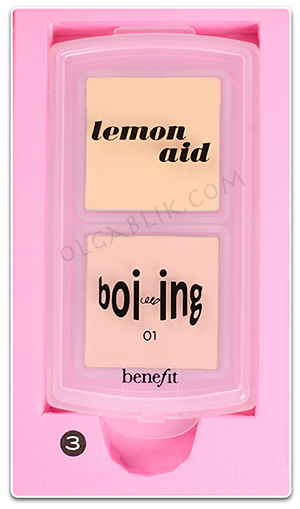 Консилер Benefit Lemon aid Color correcting eyelid primer & Boi-ing.