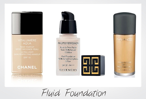 Chanel Foundation Givenchy Fluid Foundation MAC Studio Fix Fluid