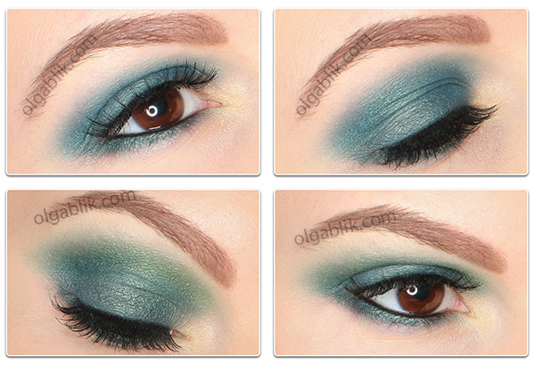 Makeup tutorial with Lime Crime Alchemy Palette