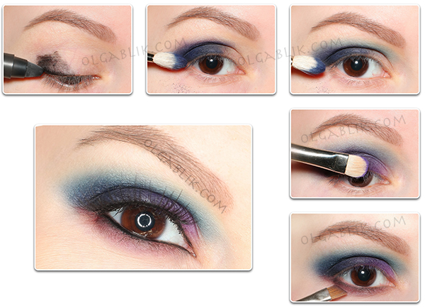 Макияж с палеткой Sleek Makeup i-Divine