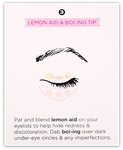 Benefit Lemon-aid Colour Correcting Eyelid Primer