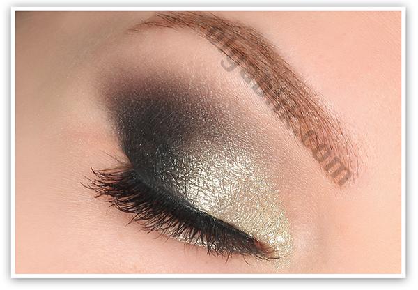 Макияж глаз с жидкими тенями пошагово
