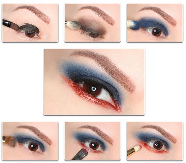 Пошаговый макияж c косметикой Illamasqua